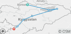 The Pearls of Kyrgyzstan, 2020 - 7 destinations