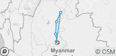 Burmese Days - 8 Days - 8 destinations