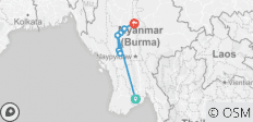 Luxury Irrawaddy 2020/2021 (Start Yangon, End Mandalay) - 12 destinations