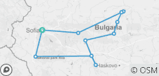 Classic tour of Bulgaria (8 days) - 13 destinations