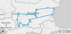 Grand Tour of Bulgaria - 12 Days - 21 destinations