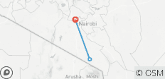 3 Tage, 2 Nächte Amboseli SGR TRAIN Safari Package - 3 Destinationen