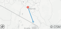 3 Days, 2 Nights Amboseli SGR TRAIN Safari Package - 3 destinations