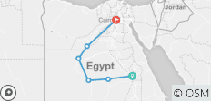 Oasis& Luxor &Cairo  Tour in Egypt - 8 destinations