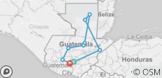 Guatemala: All Around - 9 destinations