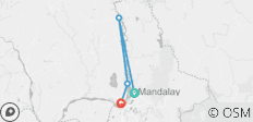 Beyond Mandalay (Up-Stream) - 3 Days - 4 destinations