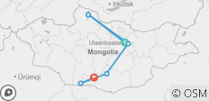 Mongolia Panorama - 6 destinations