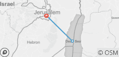 Jerusalem & the Dead Sea, 3 Days - 3 destinations