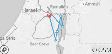 Jerusalem, Masada & Dead Sea, 3 Days - 7 destinations