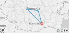 3 Day Tour - Medieval Transylvania with Half Board (Breakfast and Dinner) - 4 destinations