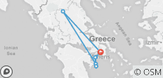 Greece 365: Athens, Meteora & Day Cruise to Poros-Hydra-Aegina (Self-guided) - 6 destinations
