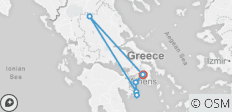 Greece 365: Athens, Meteora & Day Cruise to Poros-Hydra-Aegina (6 days) - 7 destinations