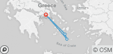 Athens, Ios & Santorini Tour - 9 Days - Standard - 4 destinations
