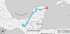 Chiapas, Yucatan and Cancun – 6 Days tour - 9 destinations