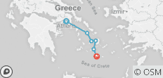 5 Greek Islands Tour - 11 Days - Premium - 6 destinations