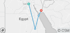 Visiting Egypt in one trip - 4 destinations