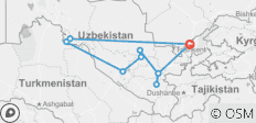 Explore The Marvelous Places of Uzbekistan In 11 Days - 9 destinations