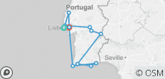 Sunny Portugal Estoril Coast, Alentejo & Algarve (Cascais to Lisbon) (2020) - 12 destinations