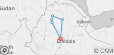 5 Days classic Northern Ethiopia Tours - 5 destinations