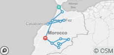 Discovery of Morocco from Tangier Ending in Marrakesh - 15 destinations