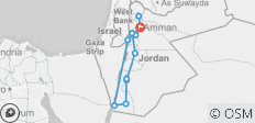 All of Jordan 8 Days / 7 Nights - 12 destinations