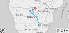 13 Days Botswana & Victoria Falls - 10 destinations