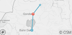 3 Days  Bahir Dar  , Gonder & Simien Mountains - 4 destinations