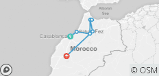 Imperial Morocco & The Blue City - 8 Days - 8 destinations