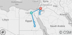 Pyramids to Petra - 15 days - 22 destinations