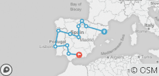 Spain and Portugal - 11 destinations