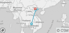 From Angkor To The Bay Short Tour 7 Days - 4 destinations