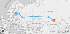 Helsinki to Irkutsk on the Trans-Siberian Railway - 6 destinations