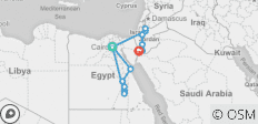 16 Days Egypt and Jordan Jewels  - 13 destinations
