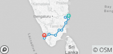 South India Temples Tour With Kerala Total Spiritual - 10 destinations