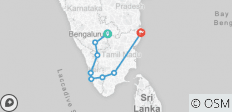 Romantic Karnataka Tour Package With Kerala  - 8 destinations