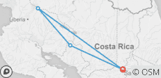 Costa Rica Family Journey: From Rainforest to Coast - 4 destinations