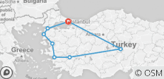 6 Days Turkey Package Tour - 8 destinations