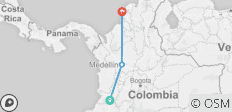 Flavors of Colombia - 9 Days - 3 destinations