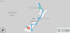 Exploring New Zealand featuring the North & South Islands (Auckland to Queenstown) (Standard) - 12 destinations