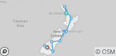 Exploring New Zealand featuring the North & South Islands (Auckland to Queenstown) (2020) - 12 destinations