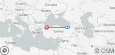 Black Sea Express | with 2 flights - 5 destinations