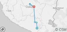 6 days - Full package Arequipa to Cusco - 7 destinations