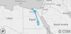 18 Days Cairo, Alexandria and Nile Cruise by Flight - 14 destinations
