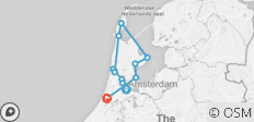 Holland Bike & Sail - Tulip Tour - 12 destinations
