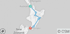 North Island Highlights - 5 Day Self Drive Tour - 7 destinations