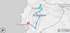 9-Day Trip Andes Essences from Quito to Guayaquil  - 9 destinations