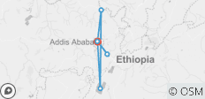 Explore Ethiopian capital city and its surroundings  - 6 destinations