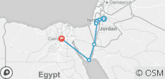 Islamic Historical Tour of Jordan-Palestine  & Egypt  - 9 destinations