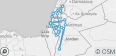 Israel and Jordan Combination - 28 destinations