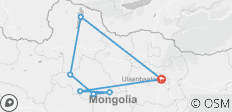 Wild Mongolia - 7 destinations